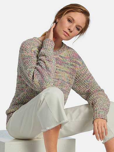 MYBC - Round neck jumper with long sleeves