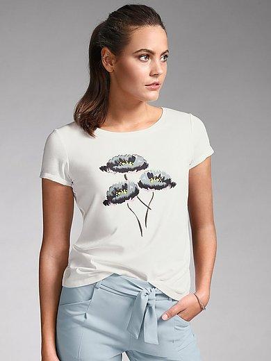 comma, - Le T-shirt à imprimé fleuri devant
