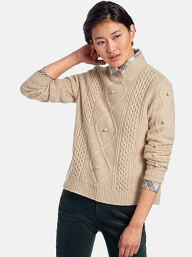 Peter Hahn Cashmere Nature - Jumper with long sleeves
