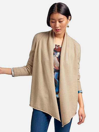 Peter Hahn Cashmere Nature - Cardigan with long sleeves