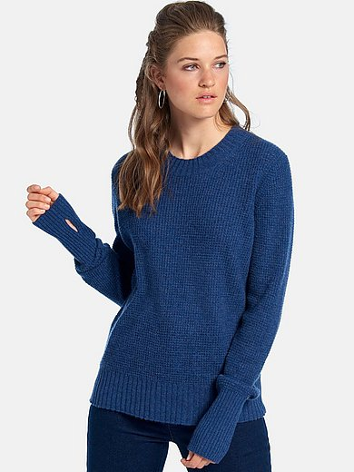 FLUFFY EARS - Round neck jumper with long sleeves