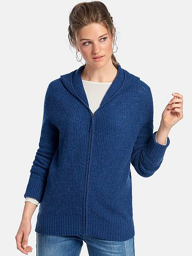 FLUFFY EARS - Cardigan with hood and long sleeves