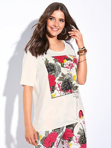 Samoon - Shirt mit 1/2-Arm