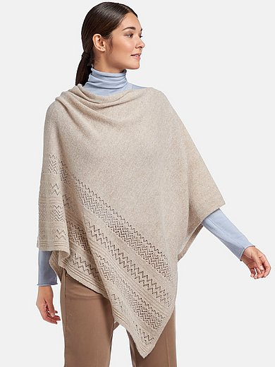 include - Poncho in cashmere blend