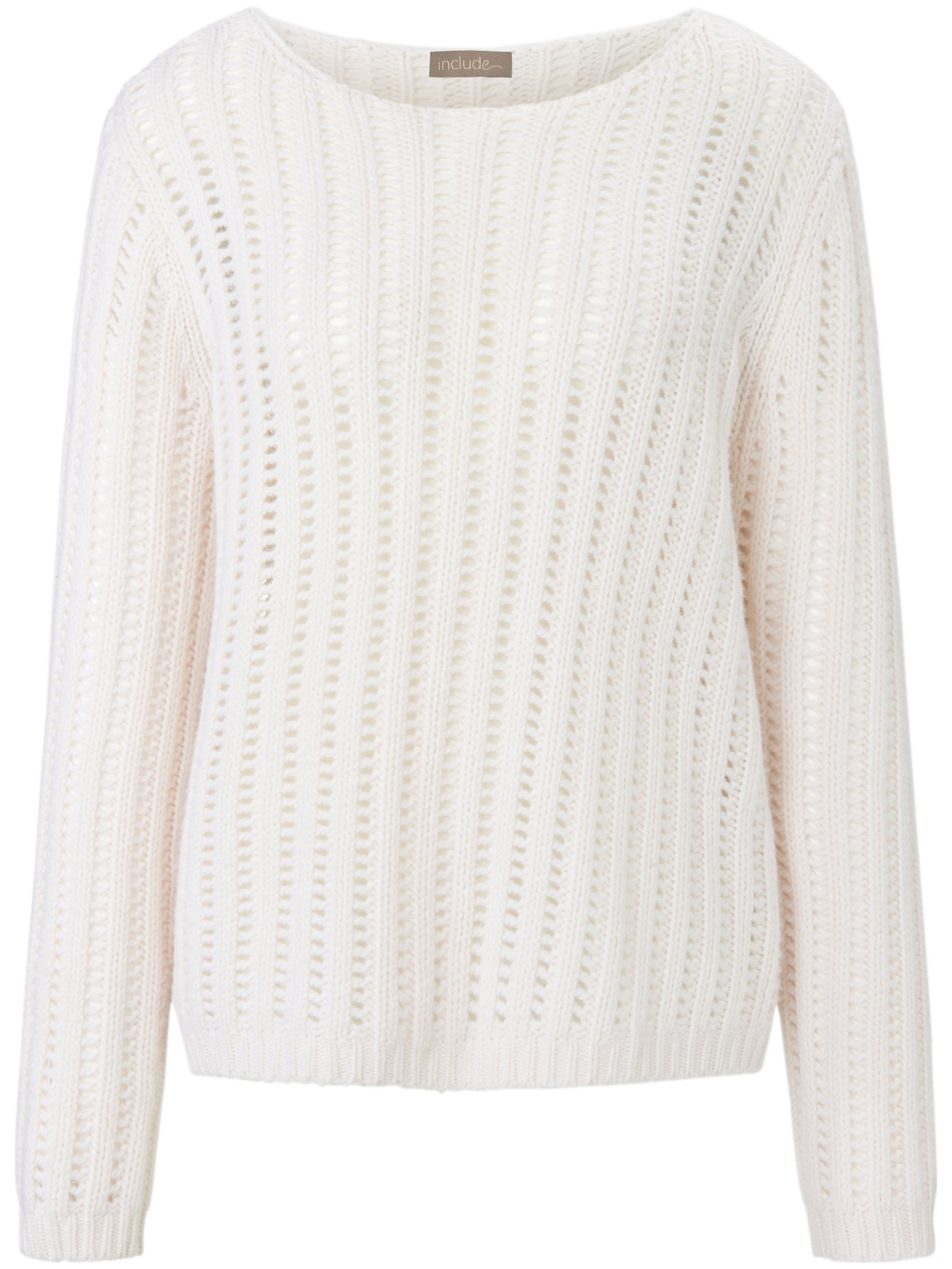 Le pull 100% cachemire  include blanc