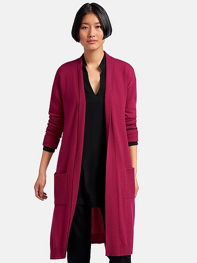 Peter Hahn Cashmere - Knitted coat with long sleeves