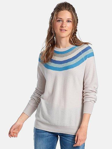 FLUFFY EARS - Rundhalsad tröja med lång ärm