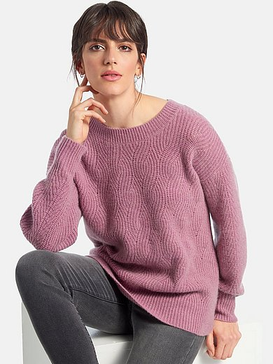 include - Round neck jumper with long sleeves