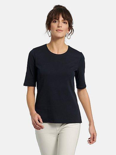 Peter Hahn - Shirt in set van 2 van 100% katoen met ronde hals