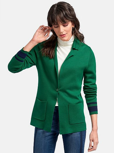 Peter Hahn - Knitted blazer in 100% cotton