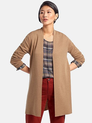 Peter Hahn - Long cardigan with long sleeves