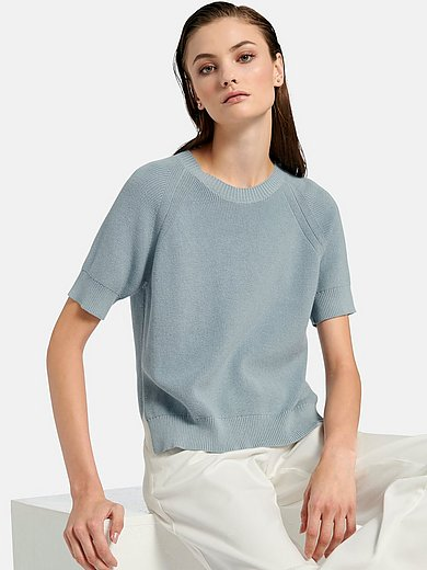 Riani - Round neck jumper with short sleeves