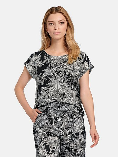Riani - Pull-on style top with floral print