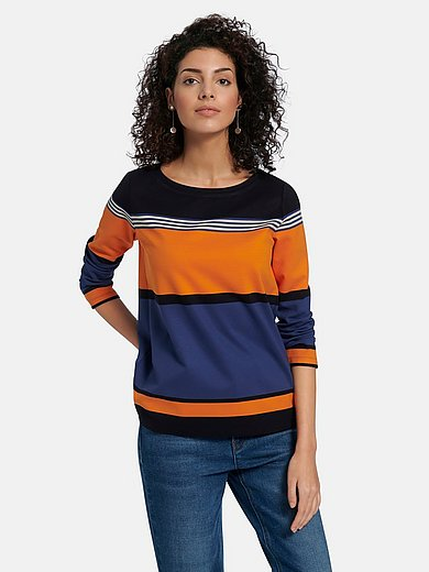 teeh`s - Pullover top with 3/4-length sleeves