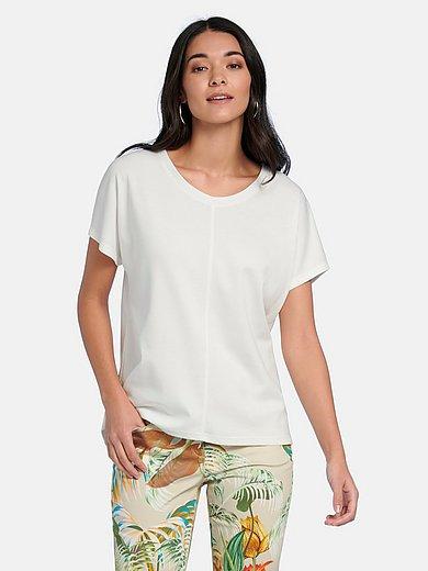 Efixelle - Rundhals-Shirt mit überschnittener Schulter