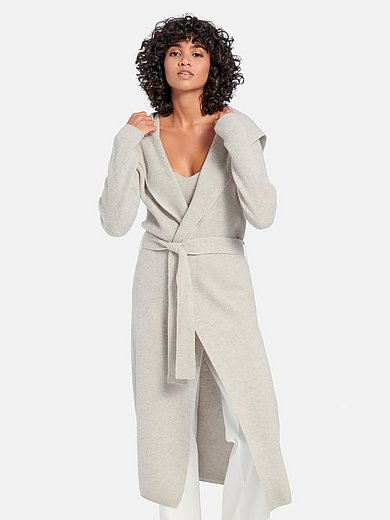 (THE MERCER) N.Y. - Knitted coat in 100% cashmere