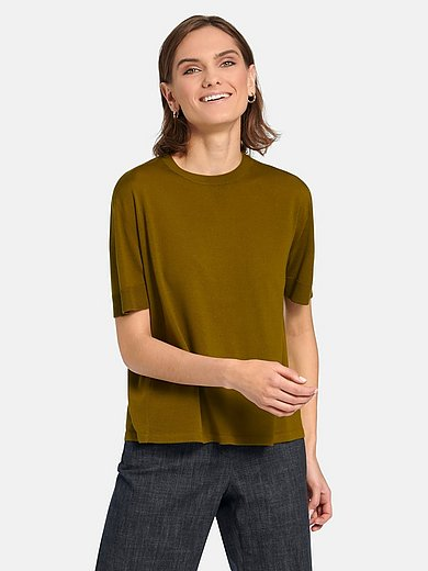 Windsor - Knitted top in 100% new milled wool