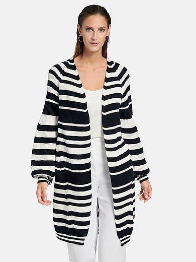 MAERZ Muenchen - Longline cardigan in 100% cotton