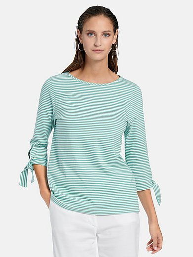 MAERZ Muenchen - Round neck top in 100% cotton