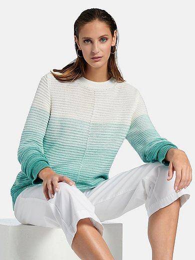 MAERZ Muenchen - Round neck jumper in 100% cotton