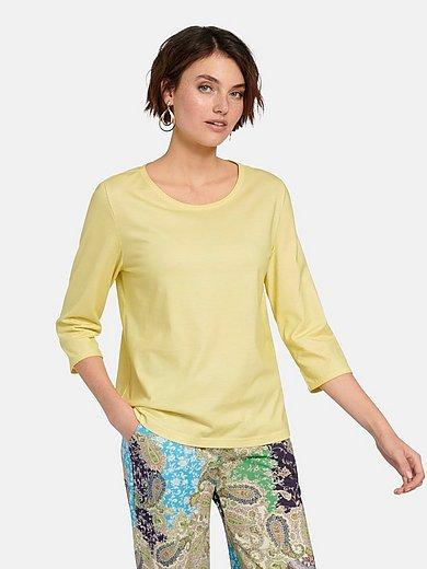 Green Cotton - Rundhals-Shirt mit 3/4-Arm
