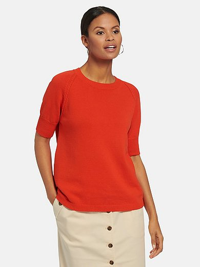 MAERZ Muenchen - Round neck jumper with short sleeves