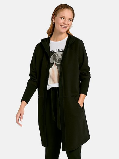Margittes - Lång hoodie med lång ärm