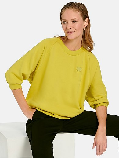 Margittes - Sweatshirt in korte, hoekige stijl