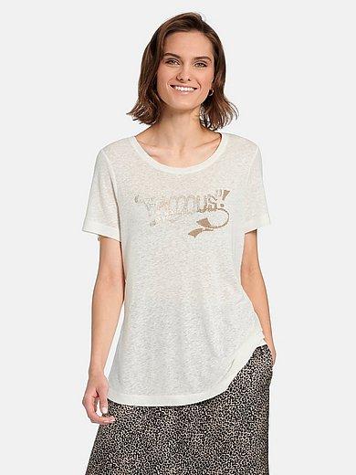 Margittes - Shirt met ronde hals en korte mouwen