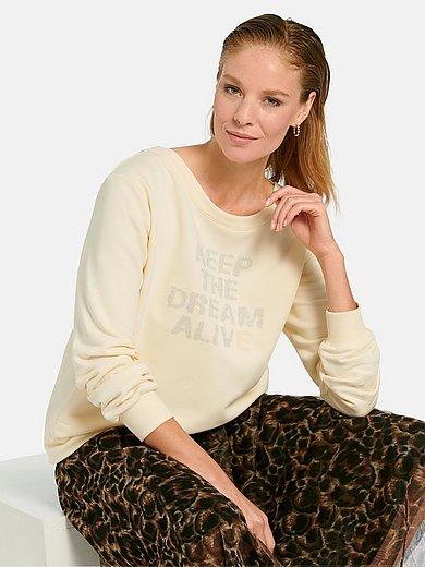 Margittes - Sweatshirt med fickor i sidorna
