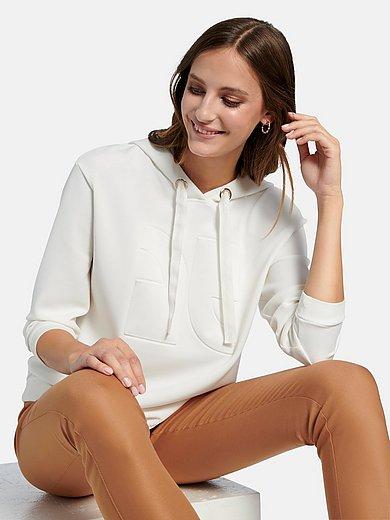 comma, - Sweatshirt med luva