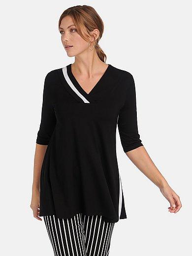 Doris Streich - Lang shirt in uitlopende A-lijn met 3/4-mouwen