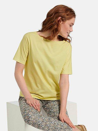 Green Cotton - T-Shirt mit U-Boot-Ausschnitt