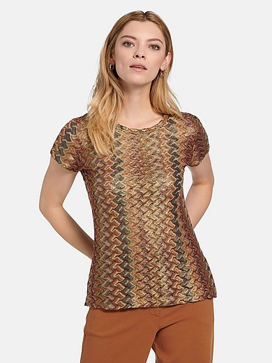 Riani - Short-sleeved round neck top
