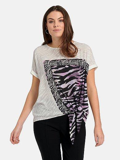 Samoon - Shirt met verlaagde schoudernaden