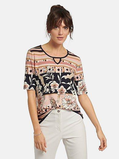 Betty Barclay - Shirt met ronde hals met korte mouwen