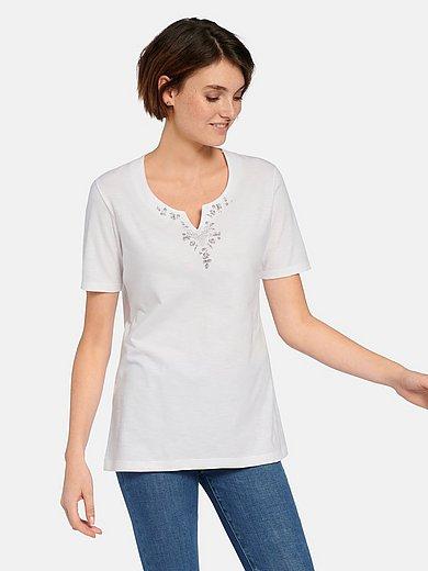 Hammerschmid - Short-sleeved top in 100% cotton