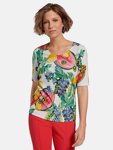 Efixelle - Shirt met ronde hals en korte mouwen