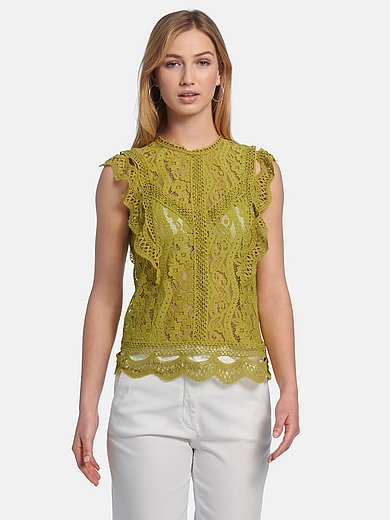 comma, - Mouwloze blouse
