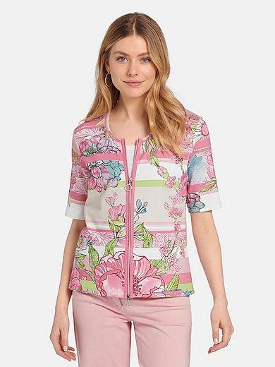 Betty Barclay - Shirtjasje met korte mouwen.