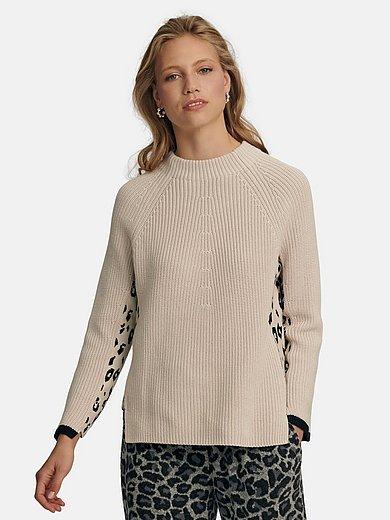 MYBC - Pullover mit Stehbundkragen