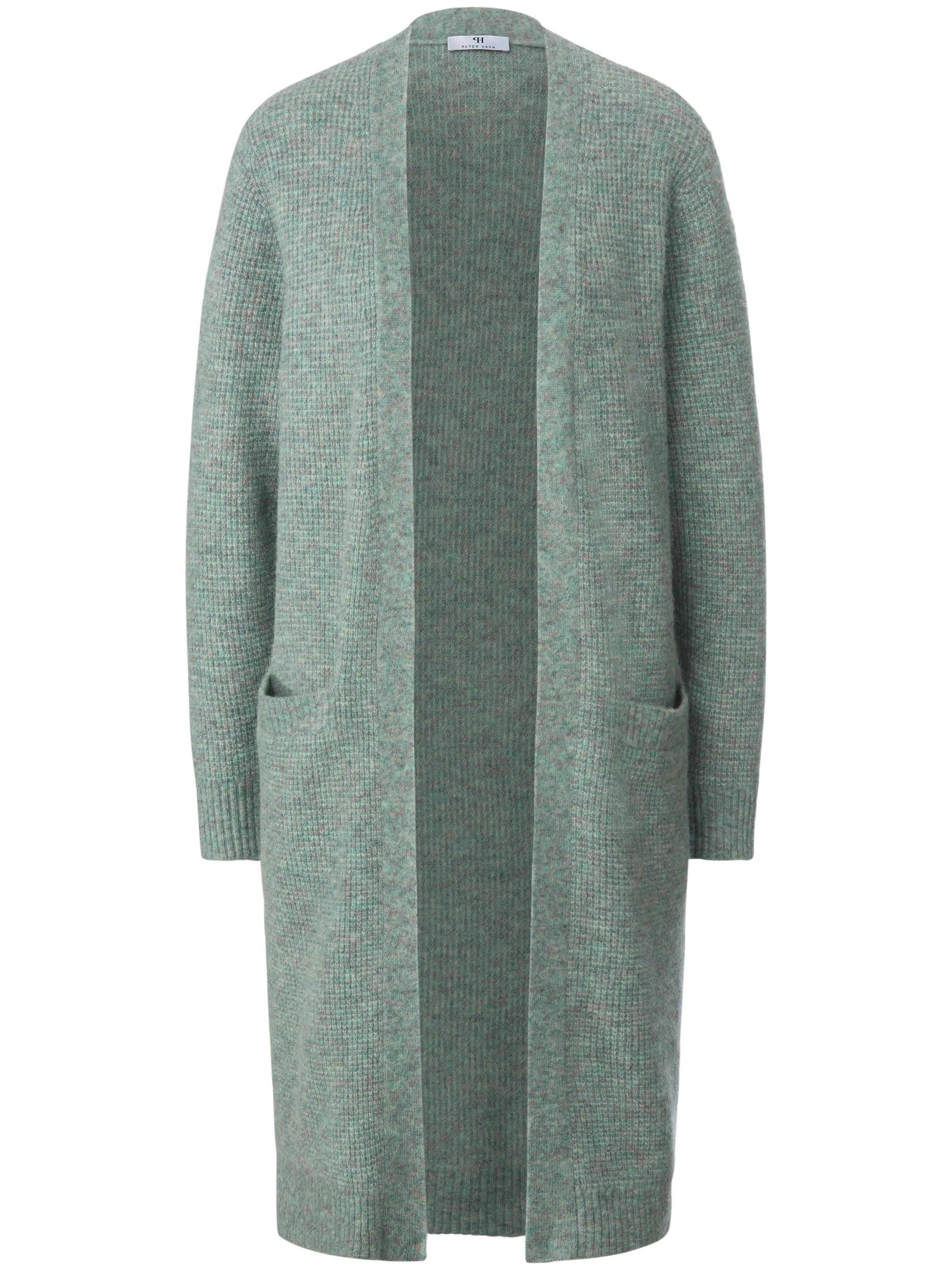 Le manteau maille à manches longues  Peter Hahn vert taille 50