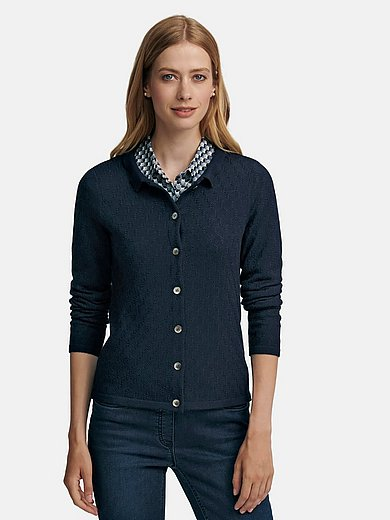 Peter Hahn - Cardigan made of 100% new milled wool