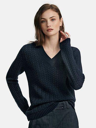 Fadenmeister Berlin - V-Pullover aus 100% Kaschmir