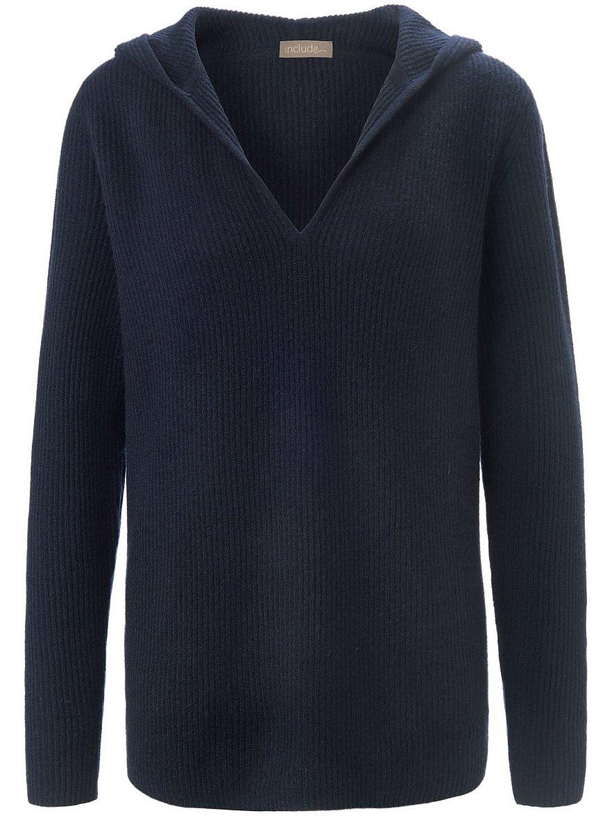 include - Pullover aus 100% Premium-Kaschmir  blau Größe: 44