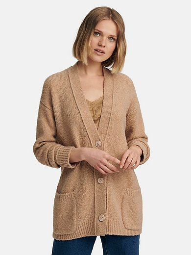 include - Cardigan in wool and cashmere mix