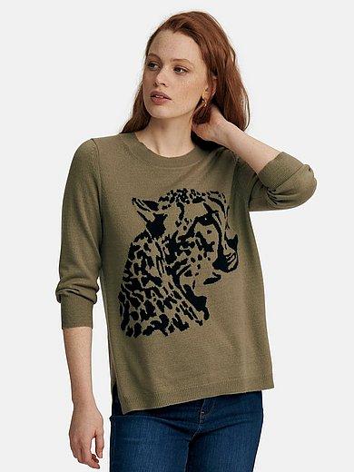 include - Pullover mit 3/4-Arm aus 100% Premium-Kaschmir
