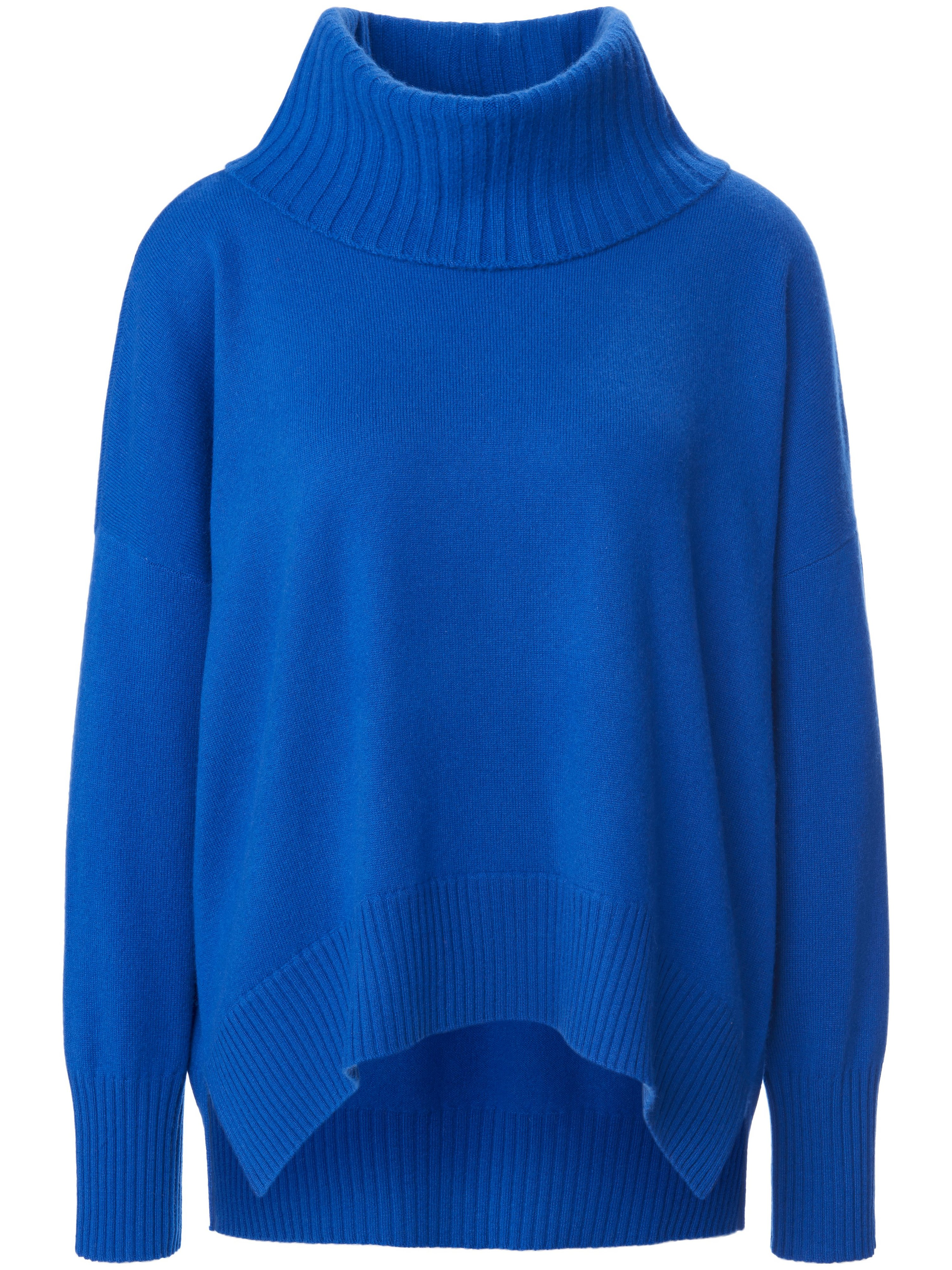 Le pull laine vierge et cachemire  include bleu taille 38