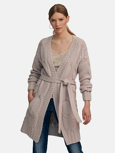 include - Le manteau en maille 100% cachemire