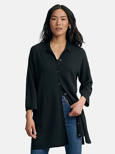 include - Knitted blouse in 100% cashmere